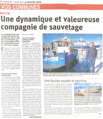 Le Dauphiné - 11.04.2021