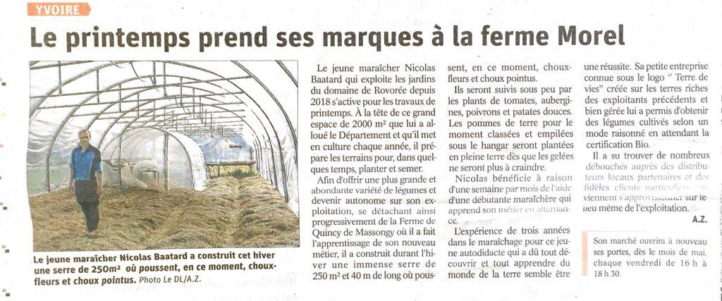 Le Dauphiné 06.04.2021